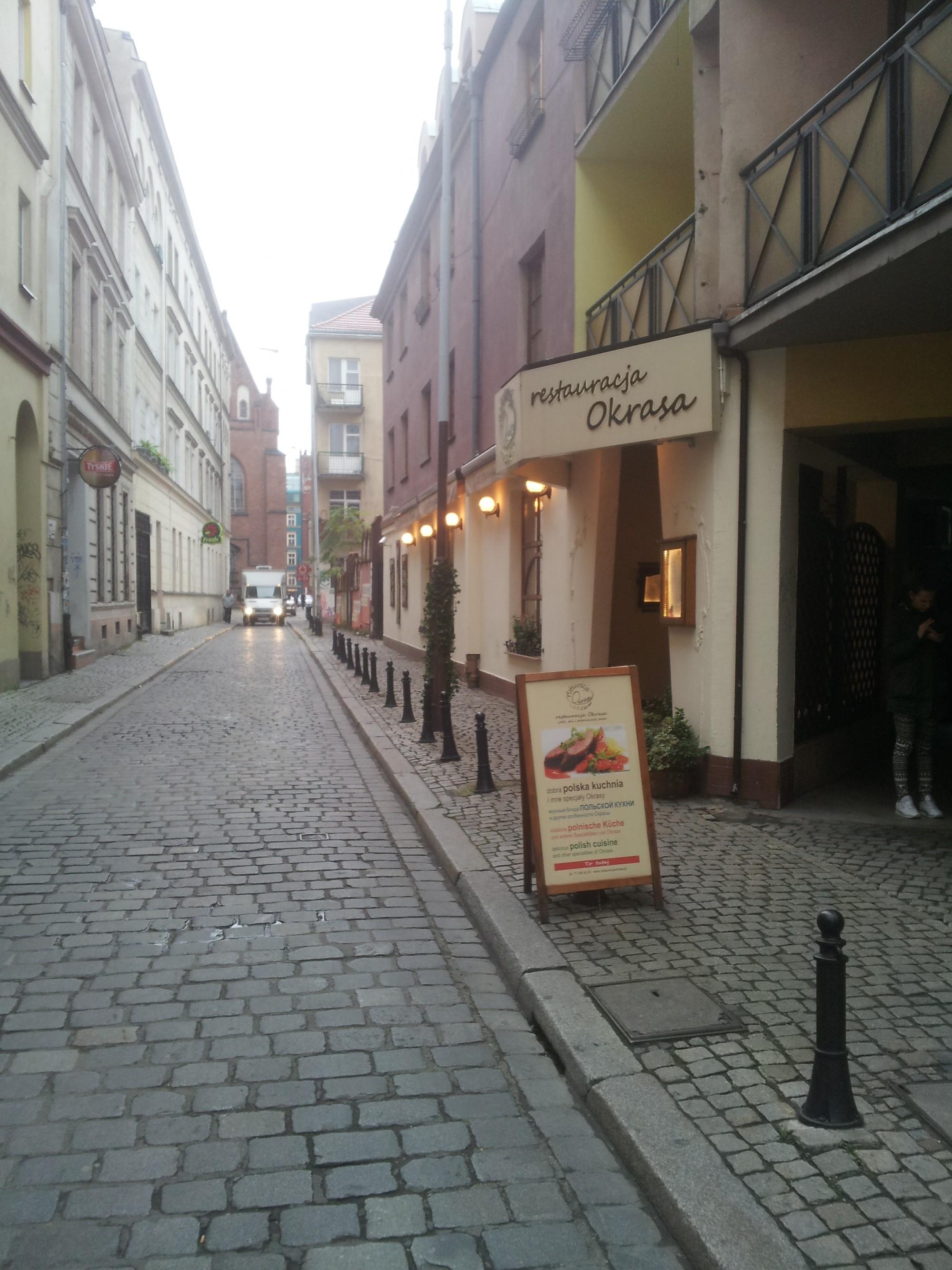 Restauracja Okrasa Stare Miasto Wrocław Gdziezjescinfo